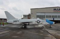 141783 @ KCAK - Grumman F-11A - by Mark Pasqualino