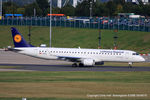 D-AEBS @ EGBB - Lufthansa CityLine - by Chris Hall