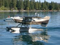 N771KE - Landing at Lake Tahoe - by Gordon Brown