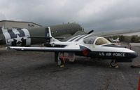 60-0188 @ KCAK - Cessna T-37B - by Mark Pasqualino