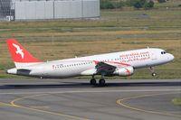 CN-NMG @ LFBO - Airbus A320-214, Landing rwy 14R, Toulouse-Blagnac Airport (LFBO-TLS) - by Yves-Q