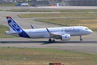 D-AVVA @ LFBO - Airbus A320-271N, Landing rwy 14R, Toulouse-Blagnac Airport (LFBO-TLS) - by Yves-Q