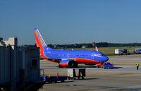 N435WN @ KATL - Aircraft being towed Atlanta - by Ronald Barker