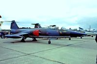 104790 @ EGVI - Lockheed CF-104 Starfighter [683A-1090] (Royal Canadian Armed Forces) RAF Greenham Common~G 01/06/1980. From a slide. - by Ray Barber