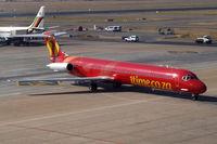 ZS-TRD @ FAJS - McDonnell Douglas DC-9-82 [48022] (1 Time Airline (Pty) Ltd) Johannesburg Int~ZS 22/09/2006