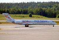 SE-RBA @ ESSA - McDonnell Douglas DC-9-87 [49403] (Nordic Regional) Stockholm-Arlanda~SE 06/06/2008