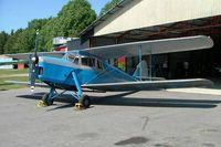 SE-AGE @ ESSP - DH.87B Hornet Moth [8136] Norrkoping-Kungsangen~SE 08/06/2008