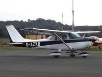G-AZXD @ EGBO - Reims/Cessna F.172L Skyhawk visiting EGBO - by Paul Massey