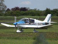 G-BAKM @ EGBO - 40's Weekend Fly-In Visitor. - by Paul Massey