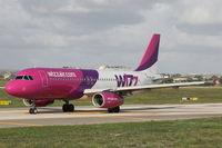 HA-LPK @ LMML - A320 HA-LPK Wizzair - by Raymond Zammit
