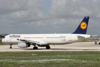 D-AIDD @ LMML - A321 D-AIDD Lufthansa - by Raymond Zammit