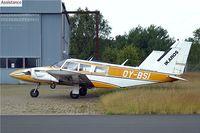 OY-BSI @ EKRK - Piper PA-34-200 Seneca [34-7350334] Copenhagen-Roskilde~OY 12/06/2008