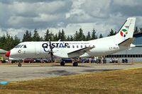 LY-RUS @ EKVJ - SAAB-Scania SF.340A [074] (Danish Air Transport) Stauning~OY 14/06/2008 - by Ray Barber