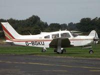 G-BGKU @ EGBO - Visitor to Halfpenny Green. EX:-N31585 - by Paul Massey