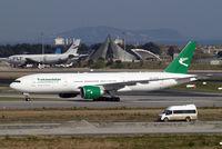 EZ-A779 @ LTBA - Boeing 777-22KLR [42297] (Turkmenistan Airlines) Istanbul-Ataturk~TC 18/04/2015