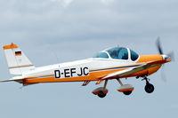 D-EFJC @ EBDT - German Bölkow Bö209 taking off from Schaffen-Diest (fly-in 2015) - by Van Propeller