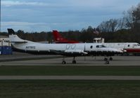 N575EG @ KFNT - SA227-AC - by Mark Pasqualino