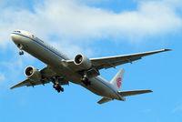B-2046 @ EGLL - Boeing 777-39LER [41442] (Air China) Home~G 30/04/2015. On approach 27R.