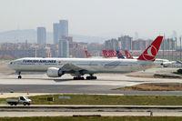 TC-JJG @ LTBA - Boeing 777-3F2ER [40791] (THY Turkish Airlines) Istanbul-Ataturk~TC 18/04/2015