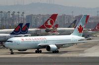 C-GDUZ @ LTBA - Boeing 767-38EER [25347] (Air Canada) Istanbul-Ataturk~TC 18/04/2015 - by Ray Barber