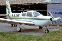 F-BSXK @ LFPT - Socata ST-10 Diplomate [133] Pontoise~F 14/09/1980. From a slide.