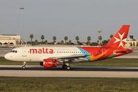 9H-AEL @ LMML - A319 9H-AEL Air Malta - by Raymond Zammit