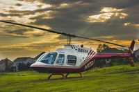 N122J - Heartland Helicopter Services Bell 206B - by Edward Gregory