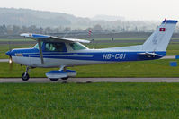 HB-CQI @ LSZG - taxying to holding rwy 25 - by sparrow9