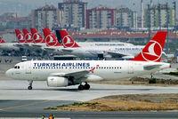 TC-JLR @ LTBA - Airbus A319-132 [3142] (THY Turkish Airlines) Istanbul-Ataturk~TC 18/04/2015