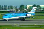 PH-KZU @ EHAM - 1995 Fokker 70 (F-28-0070), c/n: 11543