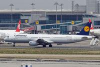 D-AISV @ LTBA - Airbus A321-231 [4047] (Lufthansa) Istanbul-Ataturk~TC 18/04/2015 - by Ray Barber