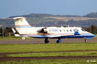 D-CGGG @ EGPN - Taxy for take-off from Dundee Riverside Airport EGPN - by Clive Pattle