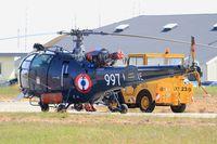 997 @ LFRL - Aérospatiale SA-319B Alouette III, Lanvéoc-Poulmic (LFRL) Open day 2015 - by Yves-Q