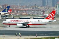 TC-ATT @ LTBA - Airbus A320-233 [1624] (AtlasGlobal) Istanbul-Ataturk~TC 18/04/2015