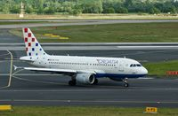 9A-CTG @ EDDL - Croatia Airlines, seen here shortly after landing at Düsseldorf Int'l(EDDL) - by A. Gendorf