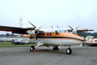 C-GDHA @ EGLF - De Havilland Canada DHC-6-300 Twin Otter [527] (De Havilland Canada) Farnborough~G 10/09/1978. From a slide.