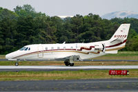 N100YB @ KPDK - Cessna Citation Excel [560-5136] Atlanta-Dekalb Peachtree~N 22/04/2010. Reverse thrusters employed.