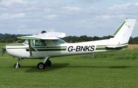 G-BNKS @ EGCV - Based. EX:-N47202. Shropshire Aero Club. - by Paul Massey