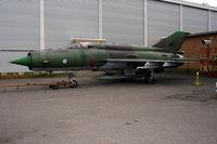 MG-135 - MG-135 at the HEL Air Museum near Vantaa airport - by Erik Oxtorp