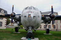 111 @ N.A. - Nord Noratlas preserved  in front of french Army braracks in Tarbes, southern France - by Van Propeller