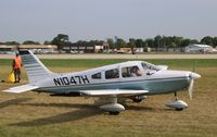 N1047H @ KOSH - Piper PA-28-151 - by Mark Pasqualino