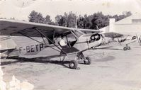 F-BETP @ GMME - PROBABLE : RABAT 1953, PILOTE ROGER JACQUET - by INCONNU