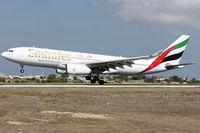 A6-EKT @ LMML - Runway 31 - by Roberto Cassar