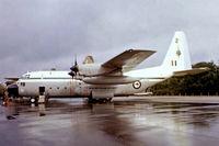 NZ7001 @ EGVI - Lockheed C-130H Hercules [4052] (Royal New Zealand Air Force) RAF Greenham Common~G 24/06/1979. From a slide.
