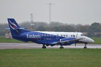 G-MAJA @ EGSH - Departing from Norwich. - by Graham Reeve