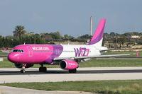 HA-LPR @ LMML - A320 HA-LPR Wizzair - by Raymond Zammit