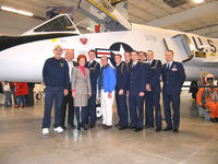 59-0010 @ MCC - Dedication of the aircraft (59-0010) at the Aerospace Museum of California (2007) after receiving a full restoration to display status at the facility. Shown are some of the Sacramento State University students (AFROTC), among many others involved. - by Christopher Carey