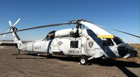164456 - Taken in October 2015 during a survey inspection by the Director of Aircraft Acquisitions Mark Fajardin Sr. prior to transfer for the Pacific Coast Air Museum. This helo was going to go into Fallon's air park but Fallon will induct an HH-60 instead. - by Mark Fajardin Sr.