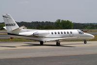 N560CF @ KPDK - Cessna Citation V [560-0040] Atlanta-Dekalb Peachtree~N 22/04/2010
