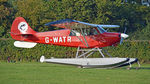 G-WATR @ EGTH - 3. G-WATR at The Shuttleworth 'Uncovered' Airshow (Finale,) Oct. 2015.